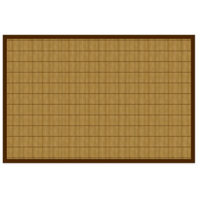 Bamboo 2-Foot x 3-Foot Floor Mat in Natural