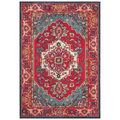 Safavieh 2 3 Red Rectangle Rug