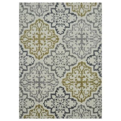 Abelia Sahara 2-Foot x 3-Foot Runner in Ivory