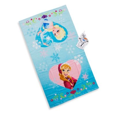 Disney® Frozen Bath Towel and Wash Mitt Set