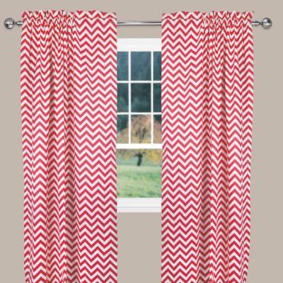 Reston 63-Inch Window Curtain Panel in Pink