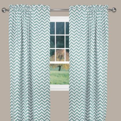 Reston 63-Inch Window Curtain Panel in Pink