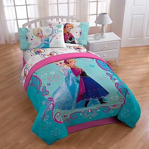 Disney Frozen Springtime Floral Comforter Bed Bath
