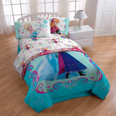 Disney® Frozen Springtime Floral Full Sheet Set