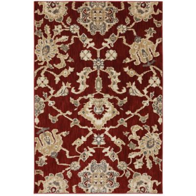 Mohawk Home Brussels 2-Foot x 7-Foot Runner in Carmine