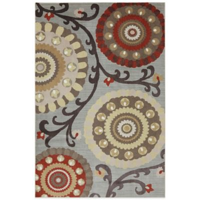 Mohawk Home Laurel 2-Foot 6-Inch x 3-Foot 10-Inch Rug in Heather
