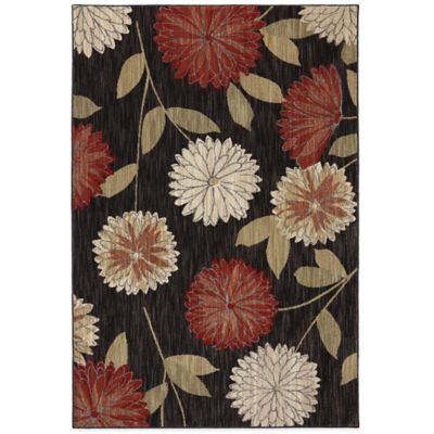 Mohawk Home Emily 2-Foot 6-Inch x 3-Foot 10-Inch Rug in Walnut