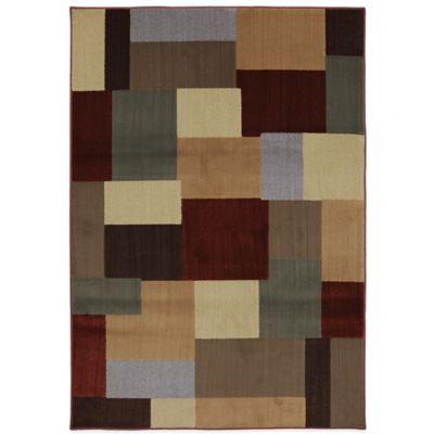 Gold Square Area Rugs