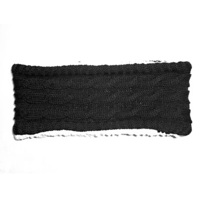 Sherpa Lined Headwrap in Black