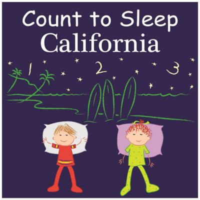 Count to Sleep Destinations Board Books > Count to Sleep California Board Book