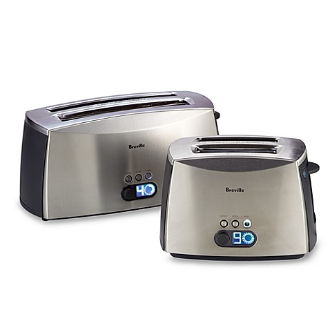 Breville® Ikon 2- and 4-Slice Stainless Steel Toasters
