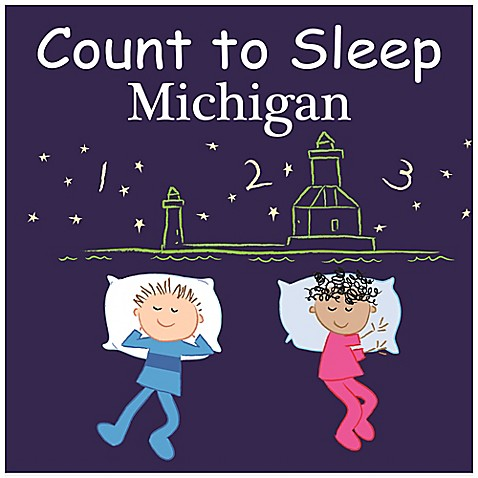 Count to Sleep Destinations Board Books > Count to Sleep Michigan Board Book
