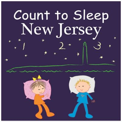 Count to Sleep Destinations Board Books > Count to Sleep New Jersey Board Book