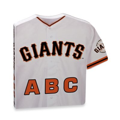 MLB San Francisco Giants ABC: My First Alphabet Board Book