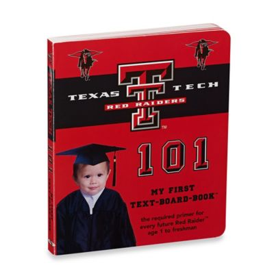 Texas Tech 101: My First Text-Board-Book™