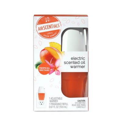 AirScentials Electric Scented Oil Warmer with Tropical Nectars Refill