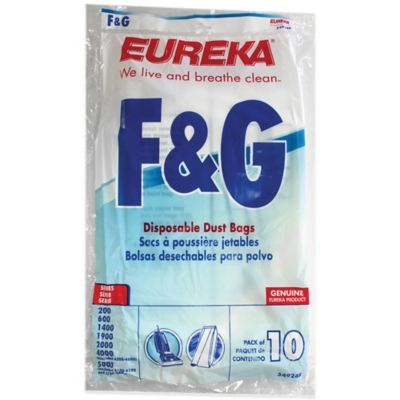 Eureka® 10-Pack Style F&G Disposable Dust Bags