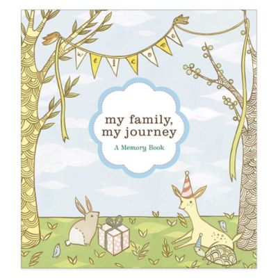 My Family, My Journey Baby Book