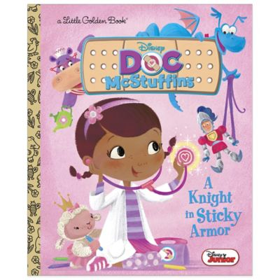 Disney Jr's Doc McStuffins: A Knight in Sticky Armor Little Golden Book