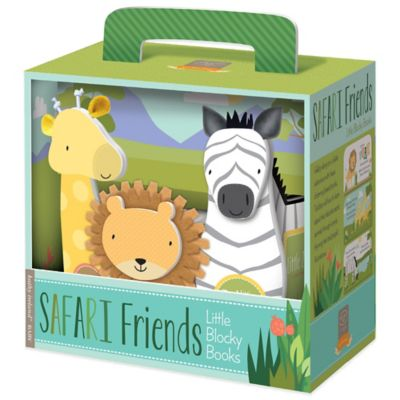 Blocky Book Set: Safari Friends by Kathy Ireland