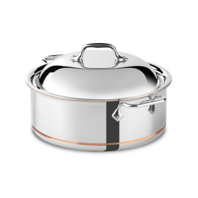 All-Clad Copper Core 6-Quart Covered Round Roaster