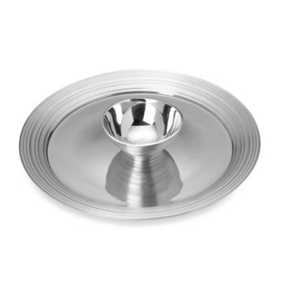 Mikasa® Swirl Chip and Dip in Aluminum