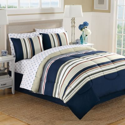 Cotton Twin Bed in a Bag Sets