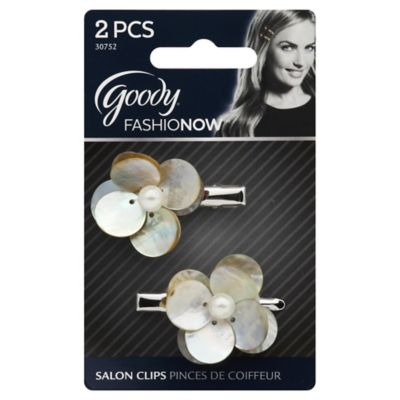 Goody® FashioNow Shell Salon Clips (Set of 2)