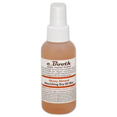 c. Booth 4 oz. Honey Almond Dry Oil Mist