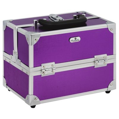 Modella Boho Purple Train Case