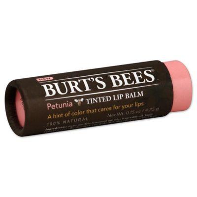 Burt's Bees® 0.15 oz. Tinted Lip Balm in Petunia