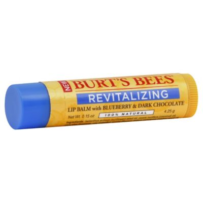 Burt's Bees® 0.15 oz. Revitalizing Blueberry Dark Chocolate Lip Balm
