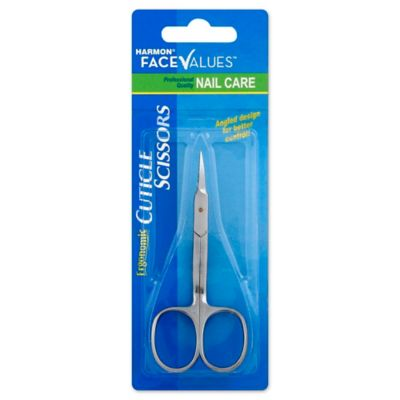 how to cut cuticles with scissors