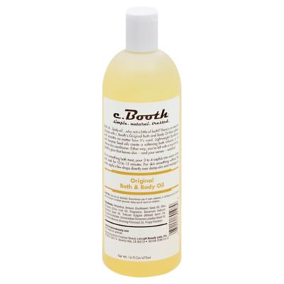c. Booth 16 oz. Original Body Oil