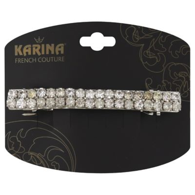 Karina French Couture Rhinestone Barrettes