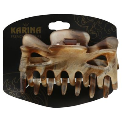 Karina French Couture Hair Claw Clip in Sand
