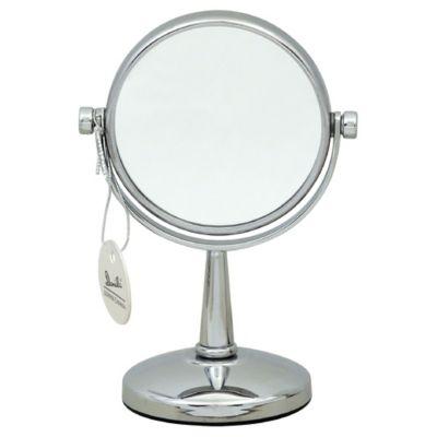 Danielle Mini Desk Vanity Mirror in Chrome