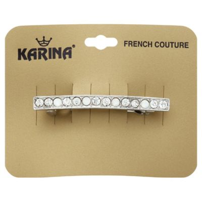 Karina Single Line Barrette with Crystal