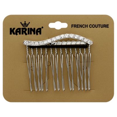 Karina® French Couture Crystal Wave Comb