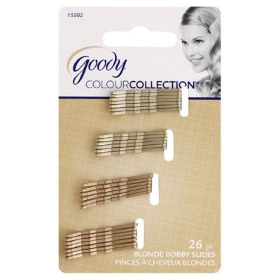 Goody® Colour Collection™ 26-Count Blonde Mini Bobby Pins