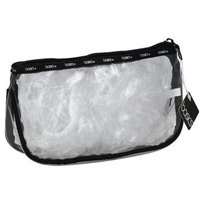 Basics® Clear PVC Zip Top Clutch