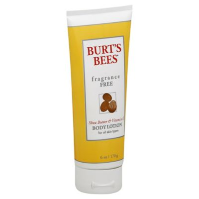 Burt's Bees® 6 oz. Fragrance-Free Body Lotion