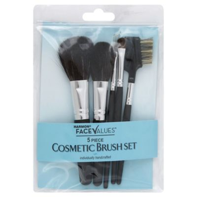 Harmon® Face Values™ 5-Piece Cosmetic Brush Set