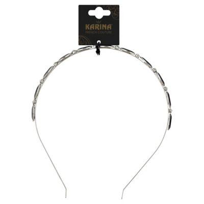 Karina French Couture Oval Stone Headband