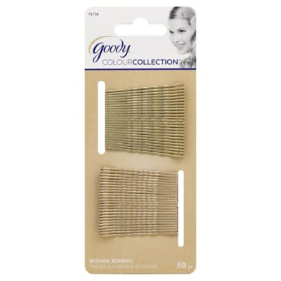 Goody® Colour Collection 50-Count Blonde Bobby Pins