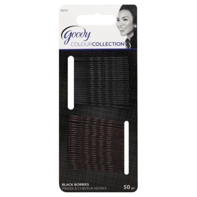 Goody® Colour Collection 50-Count Black Bobby Pins