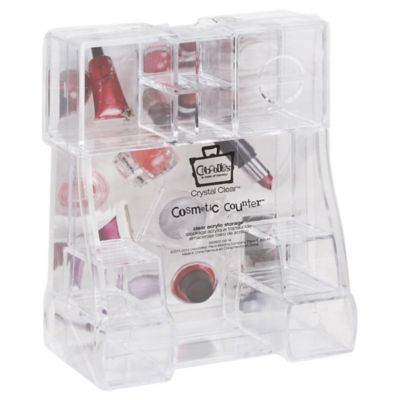 Caboodles Acrylic Cosmetic Counter Tray