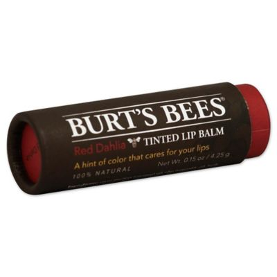 Burt's Bees® 0.15 oz. Red Dahlia Tinted Lip Balm