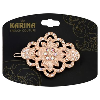 Karina French Couture Barrette Vintage Jean