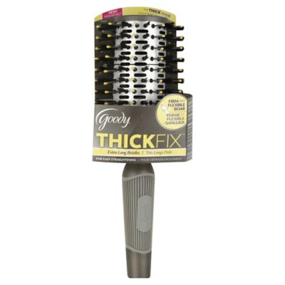 Goody® ThickFix™ Firm and Flexible + Boar Hair Brush with Extra Long Bristles